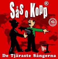 Sås och Kopp - De tjärats sångerna (CD)
