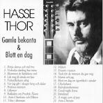 Thor Hasse – Gamla bekanta & Blott en dag (CD)