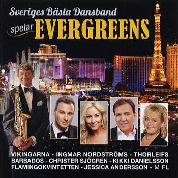 Sveriges Bästa Dansband Spelar Evergreens (CD)