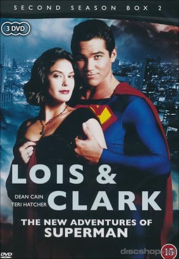 Lois & Clark(Stålmannen) Säsong 2 box 2(3dvd)(DVD)
