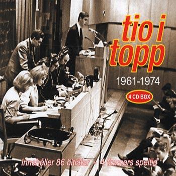Tio i topp 1961-1974 (4cd)(CD)