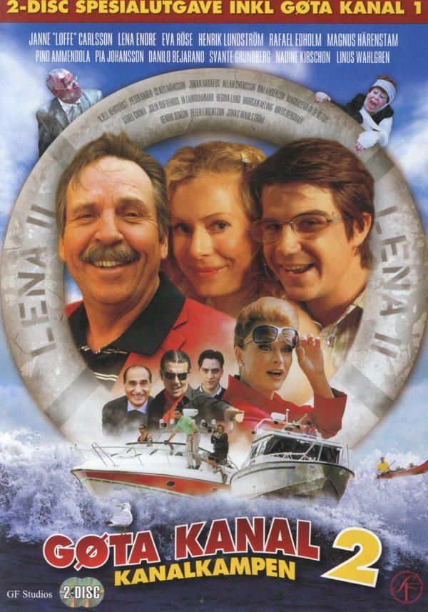Göta kanal 1-2 (2dvd)(DVD)