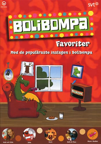 Bolibompa favoriter (DVD)