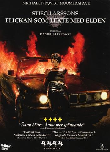 Flickan som lekte med elden (DVD)
