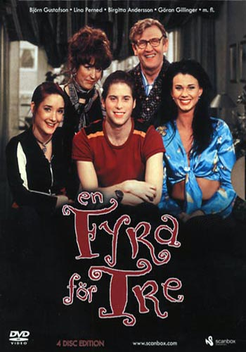 En fyra för tre / Säsong 4 (4dvd)(DVD)