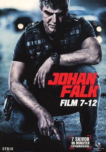 Johan Falk 7-12 / Box (6dvd)(DVD)