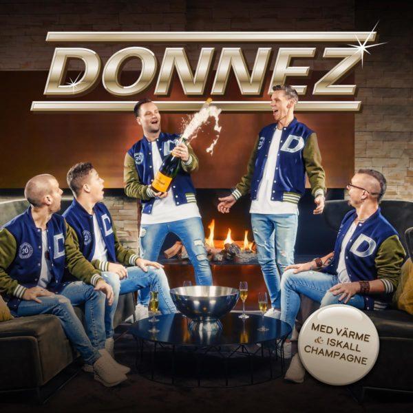 Donnez - Med värme och iskall champagne(digipak)(CD)