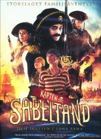 Kapten Sabeltand och Skatten i Lama Rama (DVD)