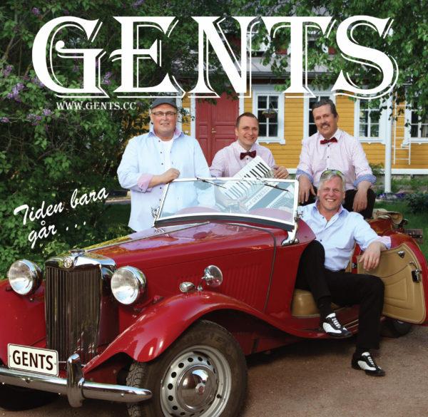 Gents - Tiden bara går (CD)