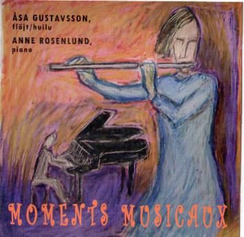 Gustafsson Åke & Rosenlund Anne - Moments musicaux (CD)