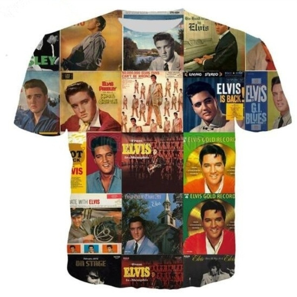 Presley Elvis-Logo-T-shirts(XL)