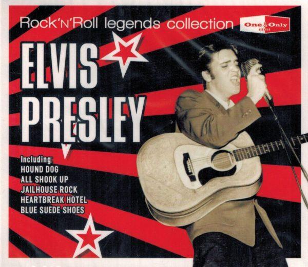 Presley Elvis - Rockn roll Legends (26låtar)(CD)
