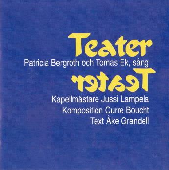 Bergroth Patricia & Ek Thomas - Teater (CD)