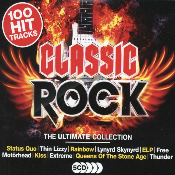 Classic Rock / Ultimate Collection (5cd)(CD)