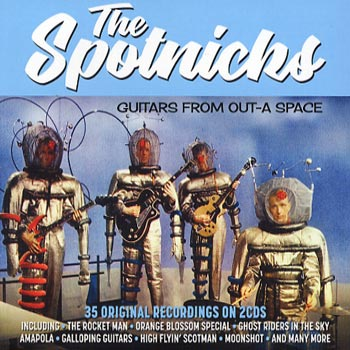 Spotnicks -Guitars from Out-A Space 1961-62 (2cd)(CD)