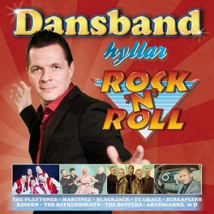Dansband Hyllar Rock'n'Roll (CD)