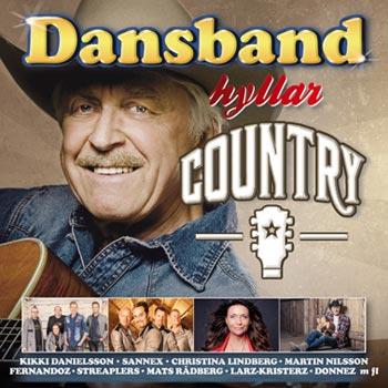 Dansband Hyllar Country (CD)