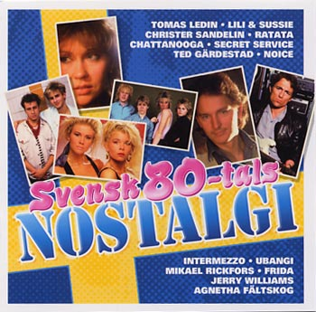 Svensk 80-tals Nostalgi (CD)