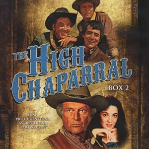 High Chaparal Box 2 (4dvd)(DVD)