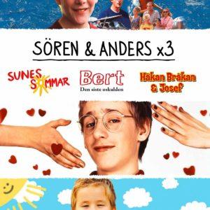 Sören & Anders / Box – Sune, Bert & Håkan Bråkan (2dvd)(DVD)