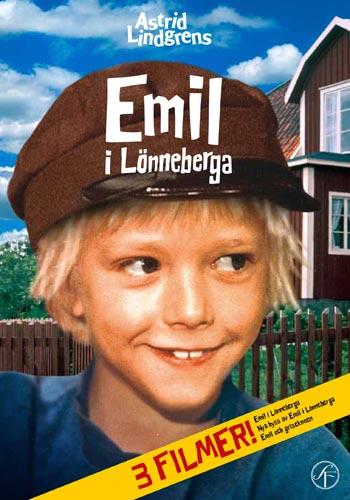 Emil i Lönneberga / 50 års jubileumsbox (3dvd)(DVD)