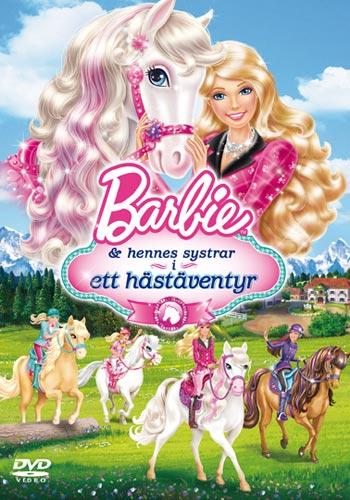 Barbie & hennes systrar i ett hästäventyr (DVD)