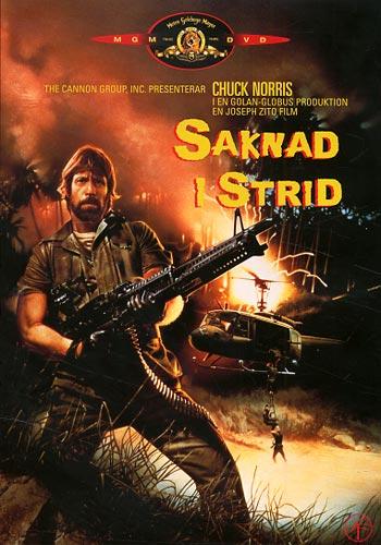 Saknad i strid (Chuck Norris)(DVD)