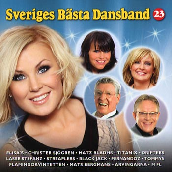 Sveriges bästa dansband Vol.23(CD)
