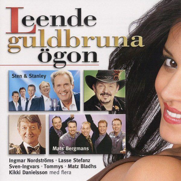 Leende guldbruna ögon (CD)