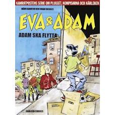 Eva och Adam 06 - Adam ska flytta (Serie Album)