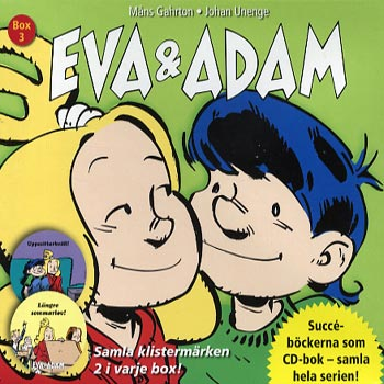 Eva & Adam Box 3 (4cd)(CD)