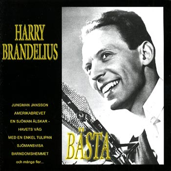 Brandelius Harry - Bästa (CD)