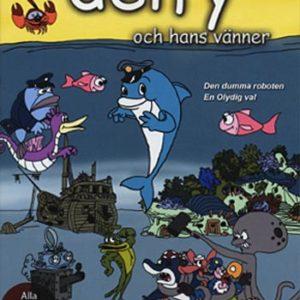 Delfy & hans vänner / Den dumma roboten (DVD)