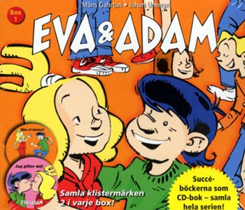 Eva & Adam Box 1 (4cd)(CD)