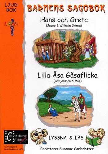 Barnens sagobok / Hans och Greta + Lilla Åsa (cd+bok)(CD)