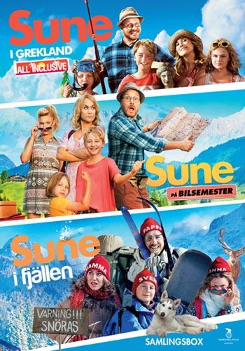 Sune Boxen - 3 filmer (3dvd)(DVD)