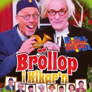 Stefan & Krister / Bröllop i kikar'n (DVD)