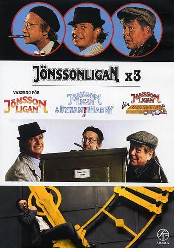 Jönssonligan x 3 (3dvd(DVD)