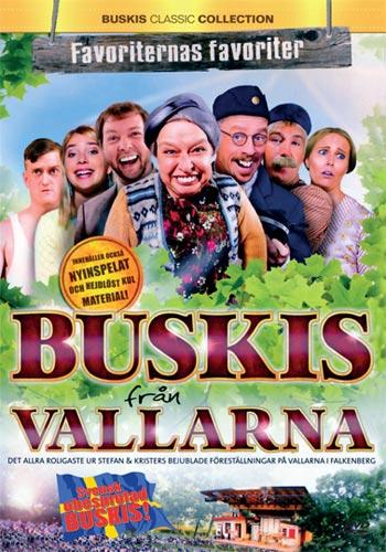 Stefan & Krister / Buskis från Vallarna (DVD)