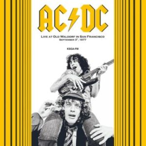 AC/DC -Live At Old Waldorf In S.F. 77 (VINYL LP)