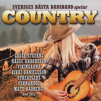 Sveriges bästa dansband spelar country (CD)
