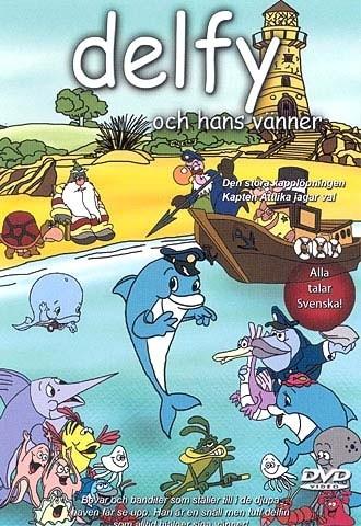 Delfy & hans vänner / Den stora kapplöpningen (DVD)