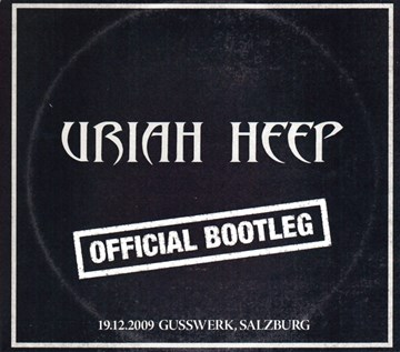 Uriah Heep -Official bootleg (2cd)(CD)