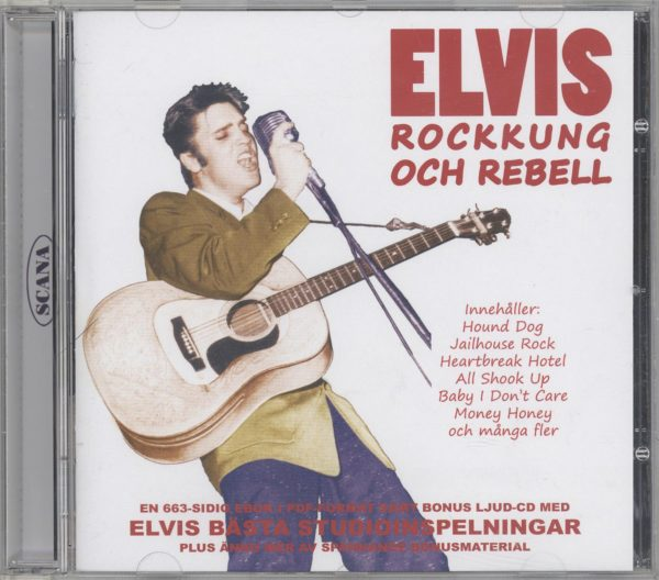Presley Elvis -Rockkung-Rebell (CD)