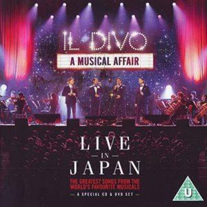 Il Divo – Live in Japan (CD)