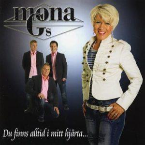 Mona G -Du finns alltid i mitt hjärta (CD)