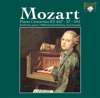 Mozart -Piano Concertos Kv 467 & 503 (CD)