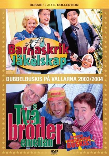 Stefan & Krister / Barnaskrik + Två bröder (DVD)