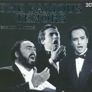 The Famous Tenors (PAVAROTTI , DOMINGO , CARRERAS)(2cd)(CD)