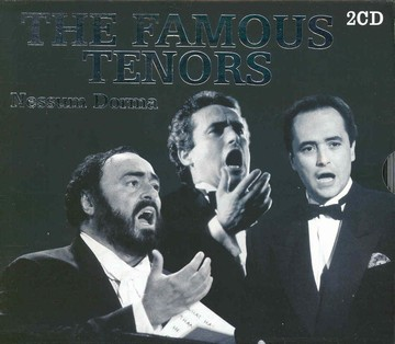 The Famous Tenors (PAVAROTTI , DOMINGO , CARRERAS)(2cd)(CD)
